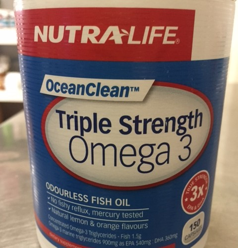 Triple Strength Omega 3 150caps