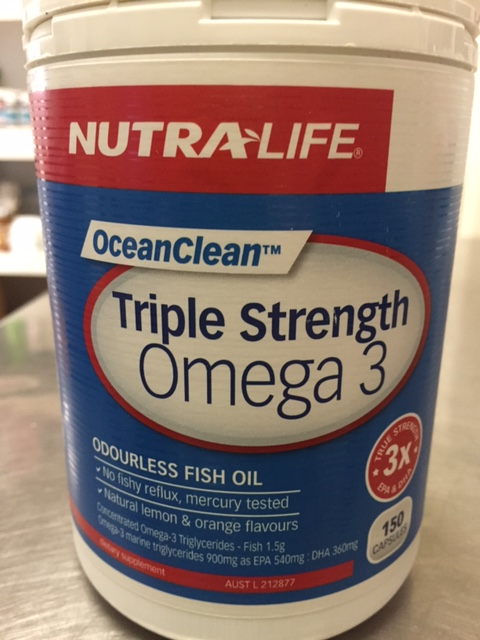 Nutra life ocean clean triple strength omega 3 150cps for Viva naturals triple strength omega 3 fish oil
